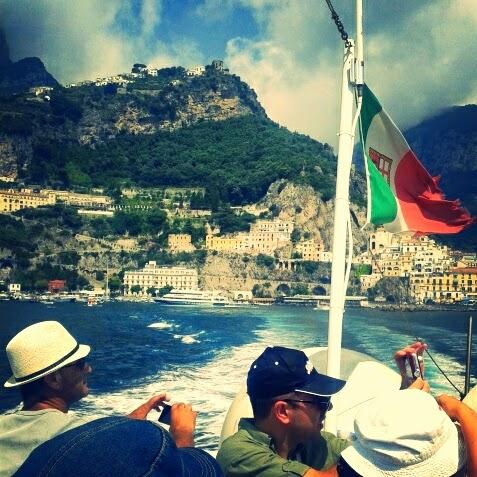 Amalfi boottocht