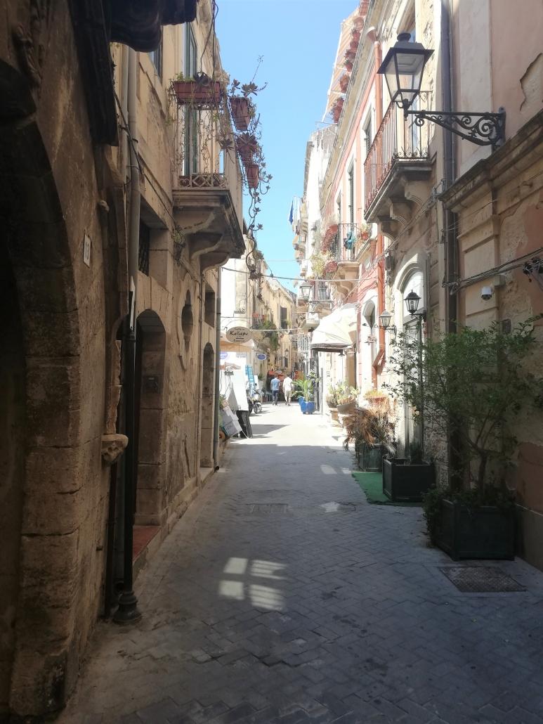 Ortigia straat