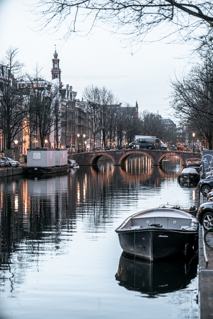 Amsterdam winter herfst